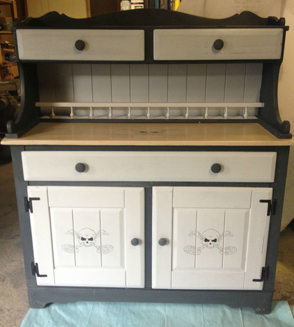 Painted Buffet / Hutch